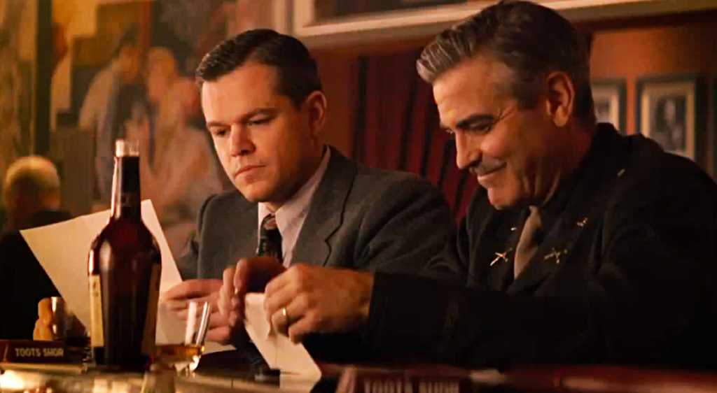 "Clooney y Damon, pareja de ases en la esperada ""The monuments men"""