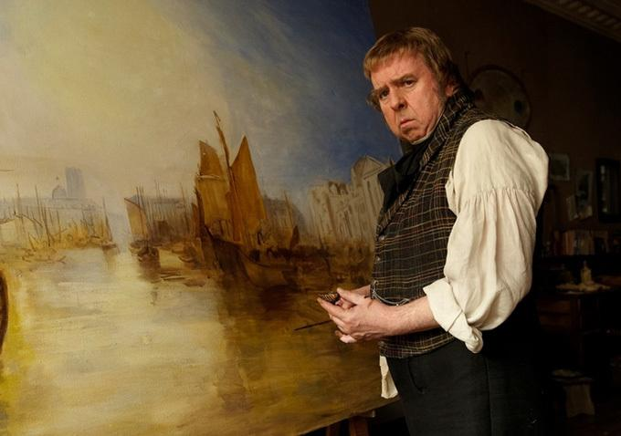 No es Mr. Scrooge sino Mr. Turner (grande Timothy Spall, sí señor)