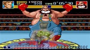 "El divertido ""Super Punch Out"", uno de los 21 títulos disponibles y preinstalados"