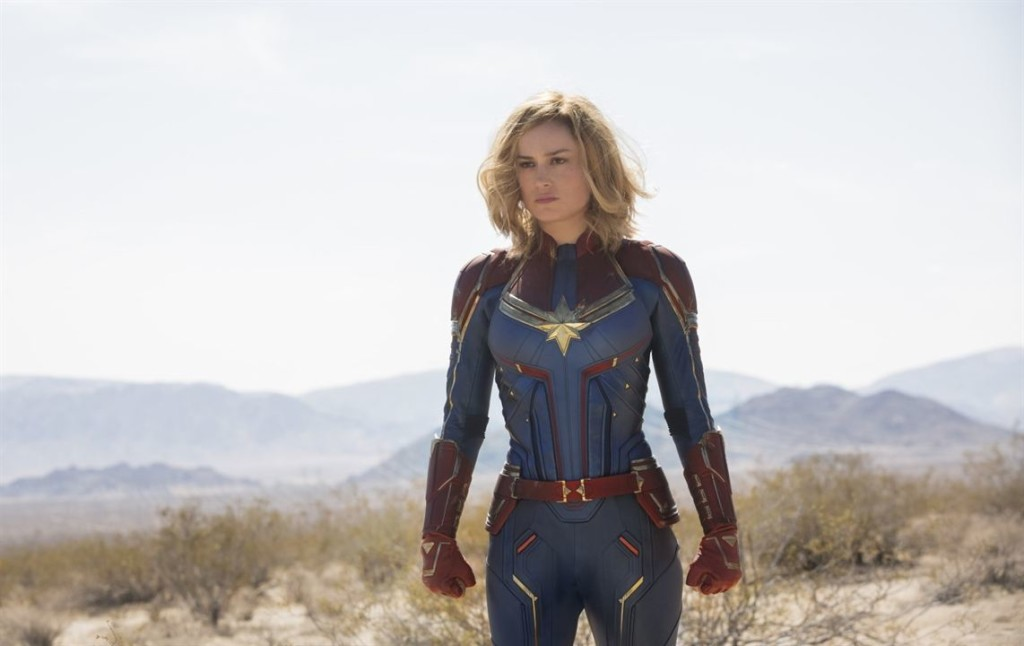 Brie Larson, en plan superheroico leather